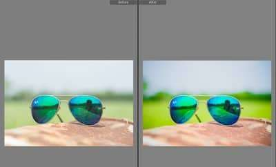 Before and After Image By Applying Urban Lightroom Presets