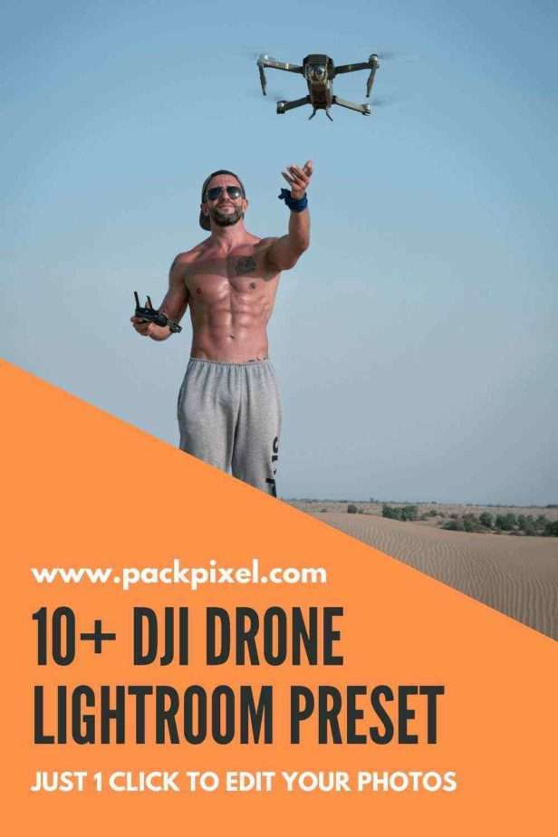Drone Photography Lightroom Presets Pin Image