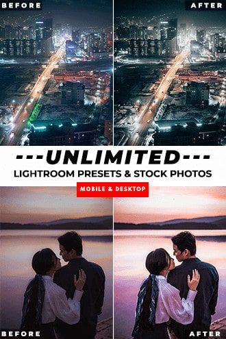 Unlimited Lightroom Presets